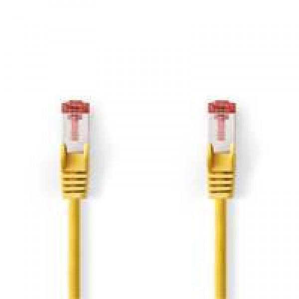 Nedis-CAT6-S-FTP-netwerkkabel-RJ45-2m-Geel